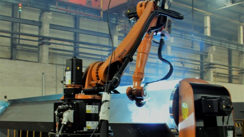 Integration of robotic welding systems